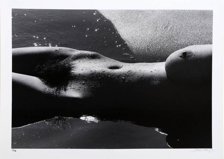 Lucien Clergue Nude Photograph - Nu de la Mer (No. 5)