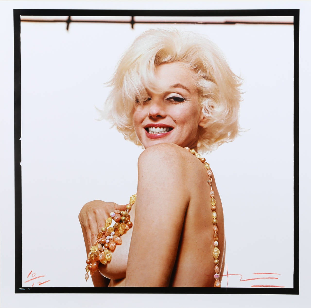 Bert Stern Portrait Photograph - Marilyn Monroe -The Last Sitting