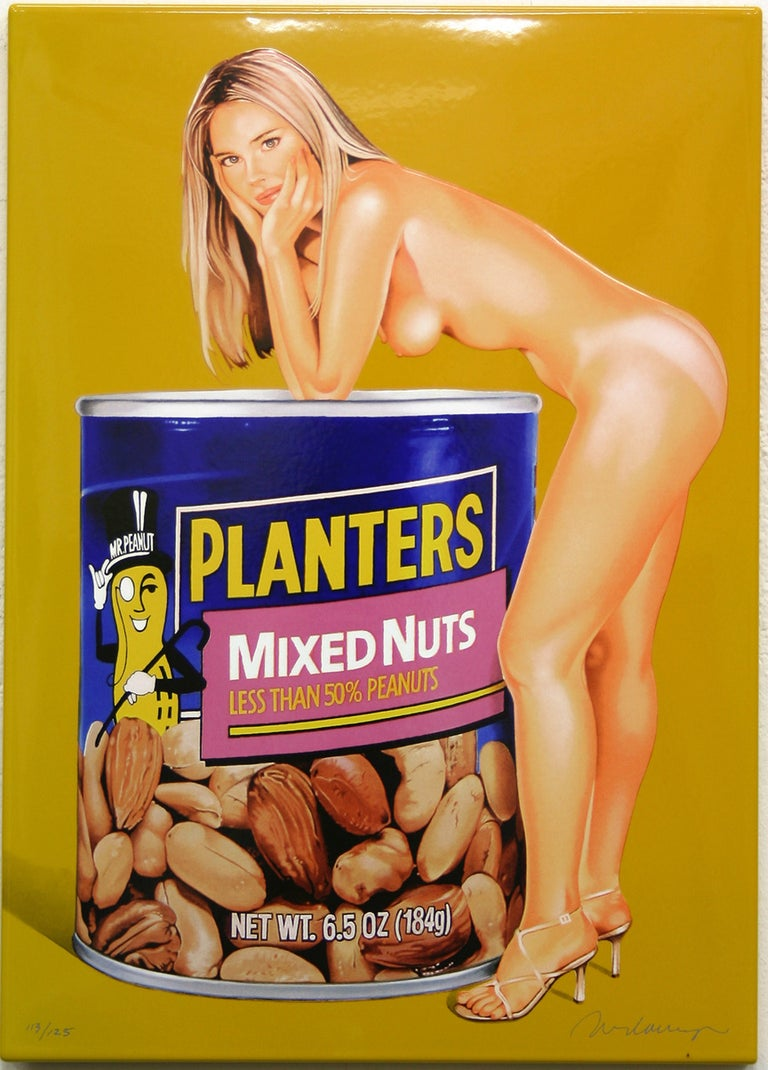Mel Ramos Nude Sculpture - Mixed Nuts
