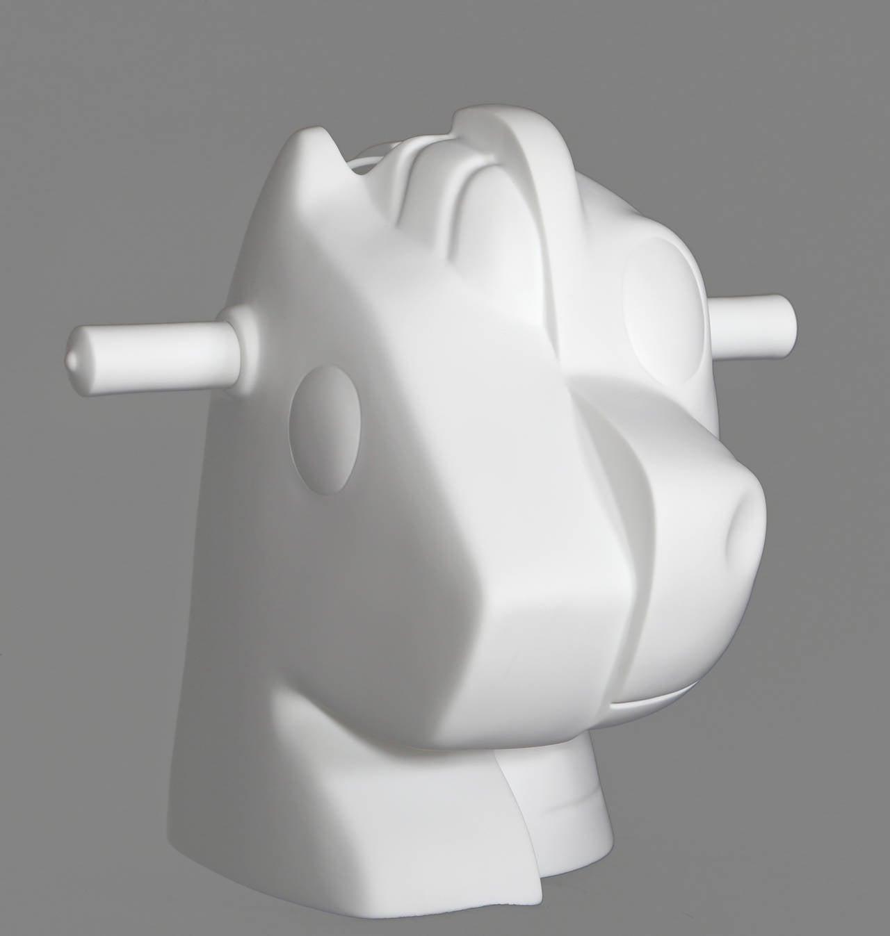 Split Rocker - Gray Figurative Sculpture by Jeff Koons