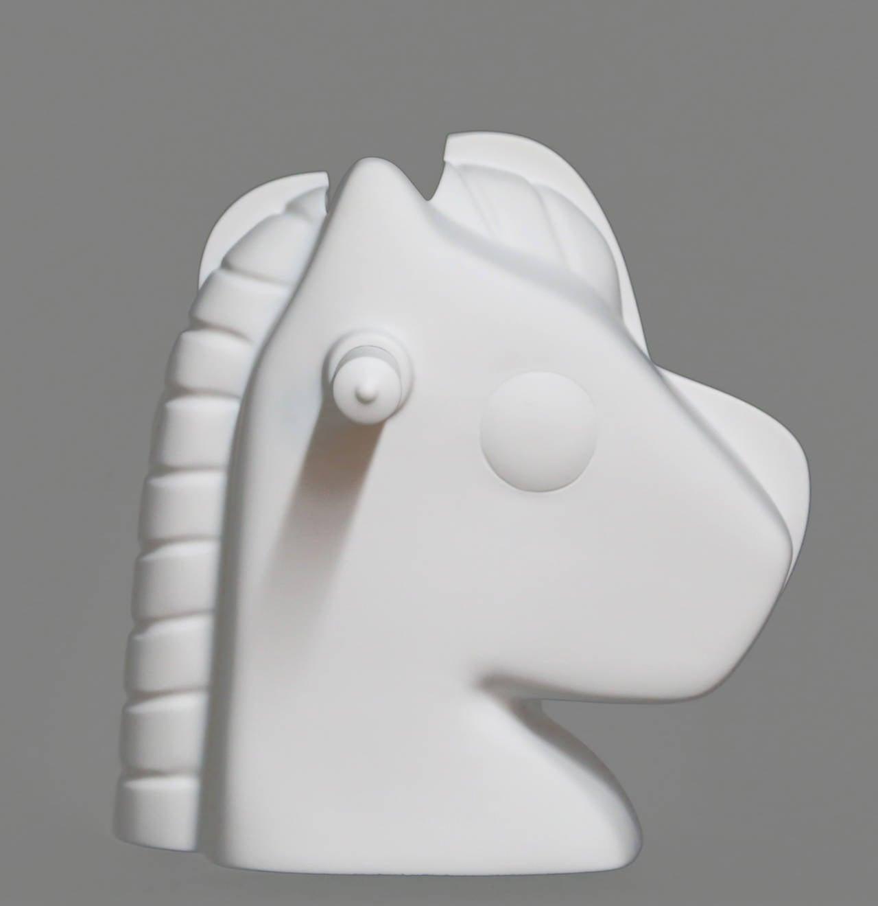 Split Rocker - Pop Art Sculpture by Jeff Koons