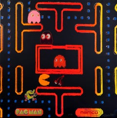 Pac-Man from the Homage to Andy Warhol Portfolio