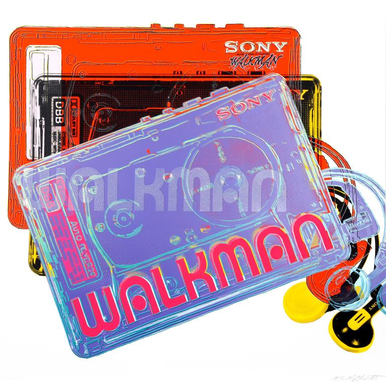 Sony Walkman from the Homage to Andy Warhol Portfolio