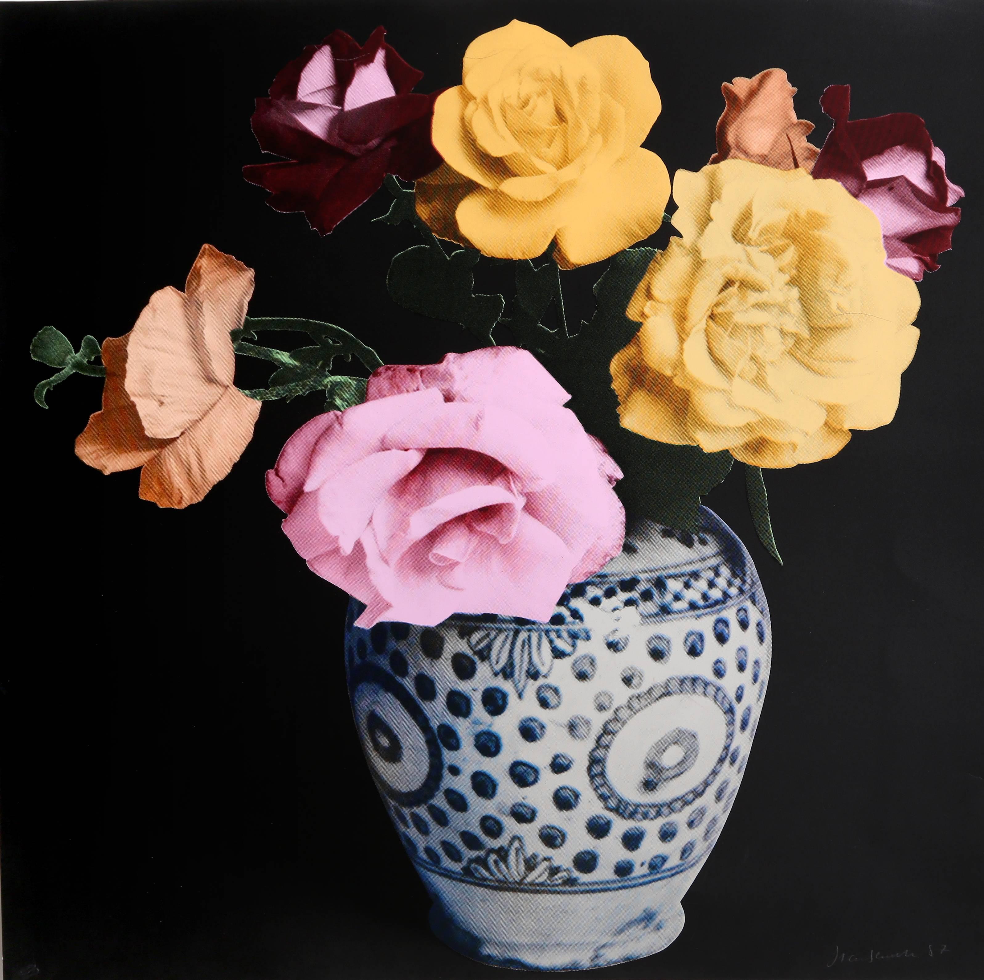 Flower Arrangement (Black)