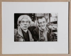Andy Warhol and Keith Haring
