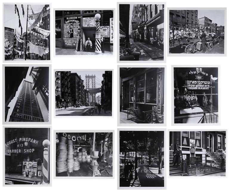 New York IV (Portfolio of 12 Photos) by Berenice Abbott