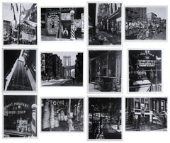 New York IV (Portfolio of 12 Photos) by Berenice Abbott