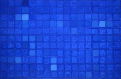 Blue Vision, large Oil Painting by Suzuki