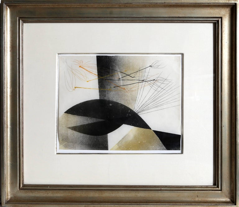 Harry Bertoia Abstract Print - untitled 1