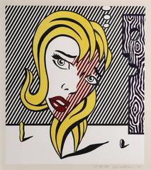 Roy Lichtenstein - Blonde (C.153)
