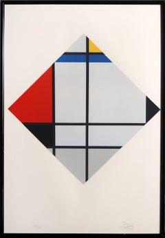 Untitled (After Piet Mondrian)
