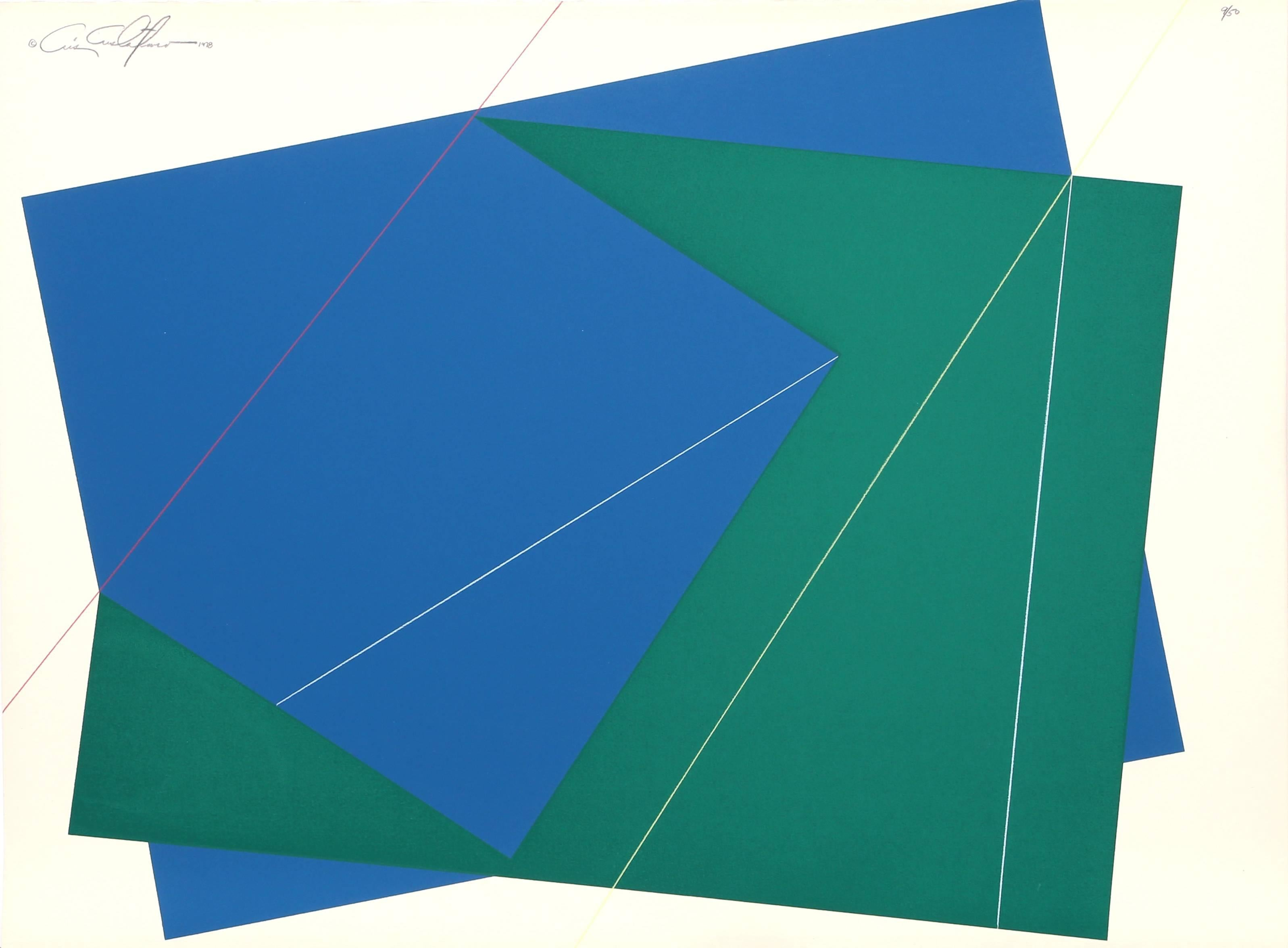 Green and Blue Rectangles