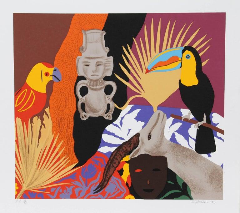 Hunt Slonem Still-Life Print - Managua #1