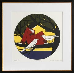 Circe II, Framed Silkscreen by Will Barnet