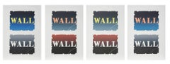 Wall: Two Stone, Suite of Four Lithographs by Robert Indiana