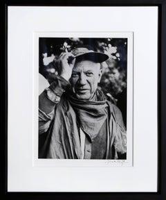Picasso a la Feria, revetu des habits de la Pena de Logrono - Nimes, 1959