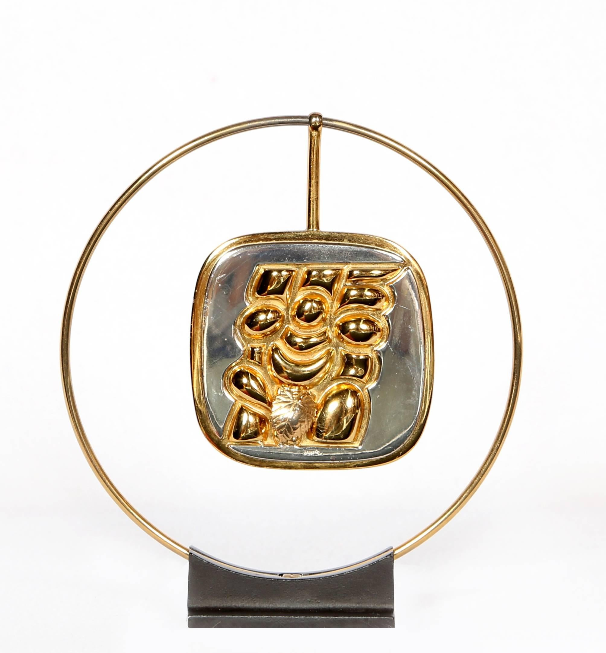 Torso Verona (Gold), Wearable Art by Berrocal