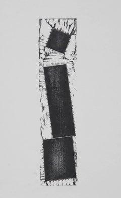 Minimalist Woodcut by Joel Shapiro