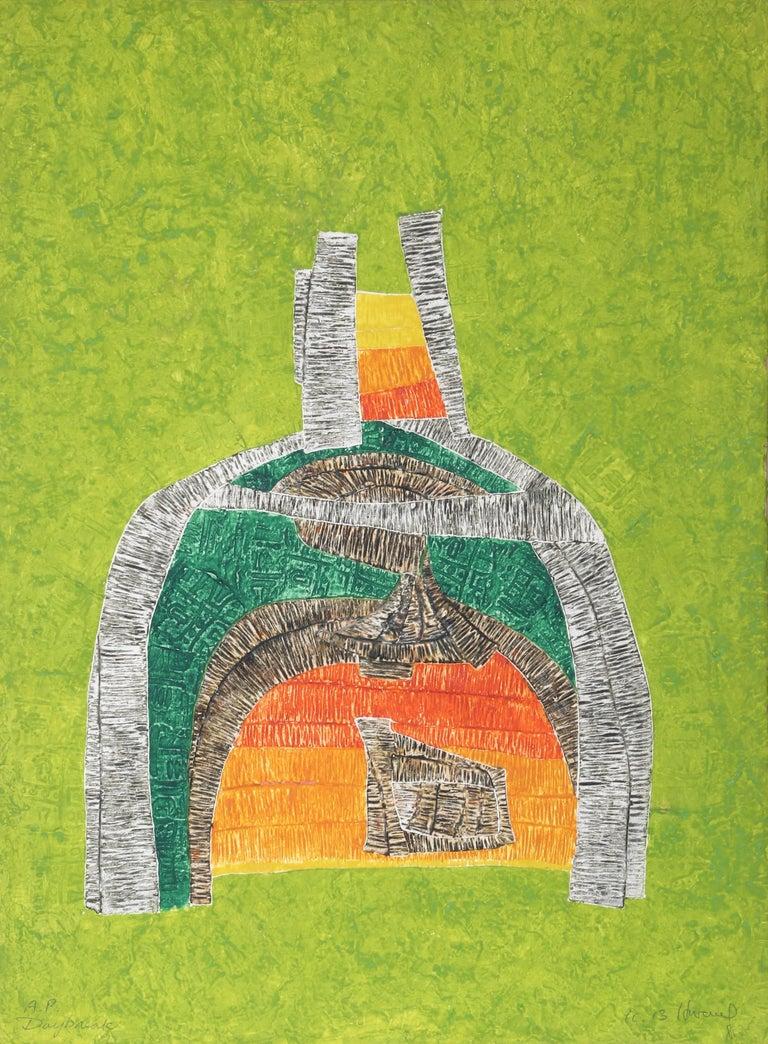 K.B. (Kyu-Baik ) Hwang Abstract Print - Daybreak