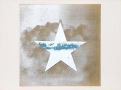 Estrella Azul sobre Oro