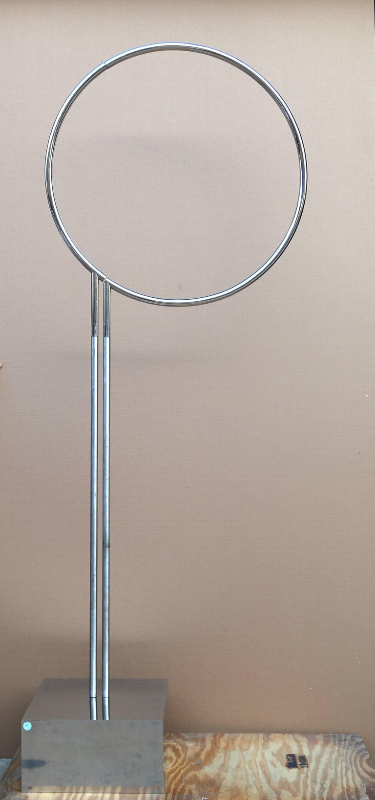 Agam Yaacov  Abstract Sculpture - Cercle Haut, Large Standing sculpture by Yaacov Agam