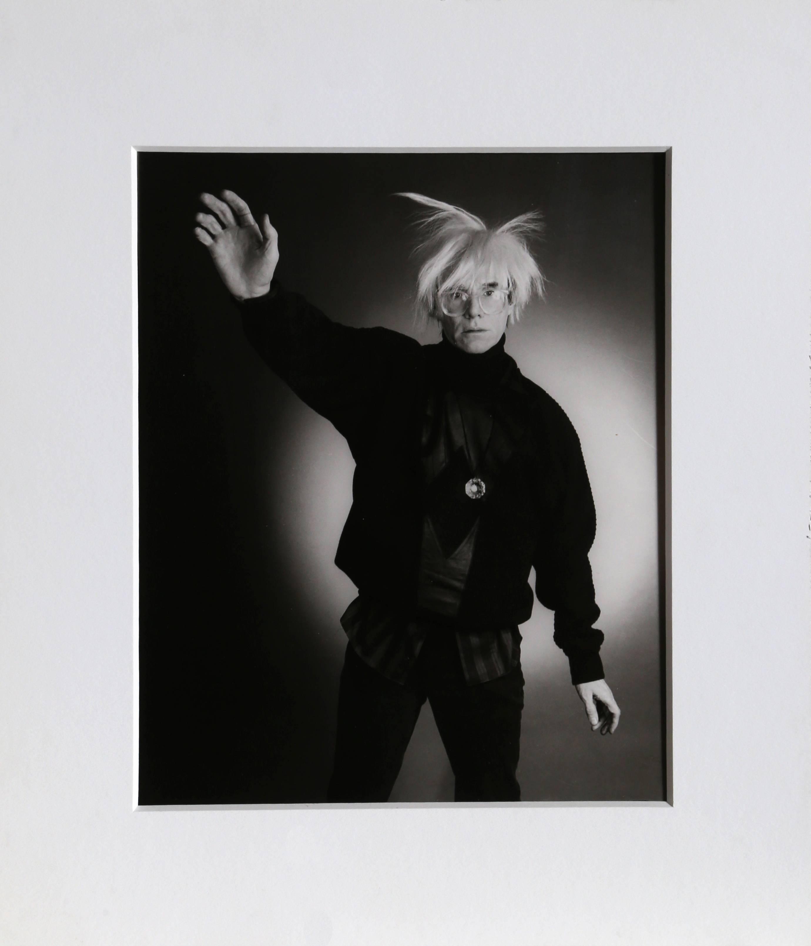 Andy Warhol Posing