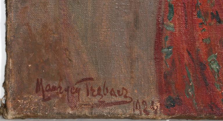 Gypsy - Painting by Maurycy Trebacz