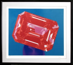 Ruby, Framed Pop Art Silkscreen by Richard Bernstein