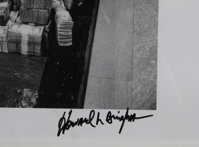 Muhammad Ali Sitting on a Million Dollars - Contemporary Photograph by Howard Bingham