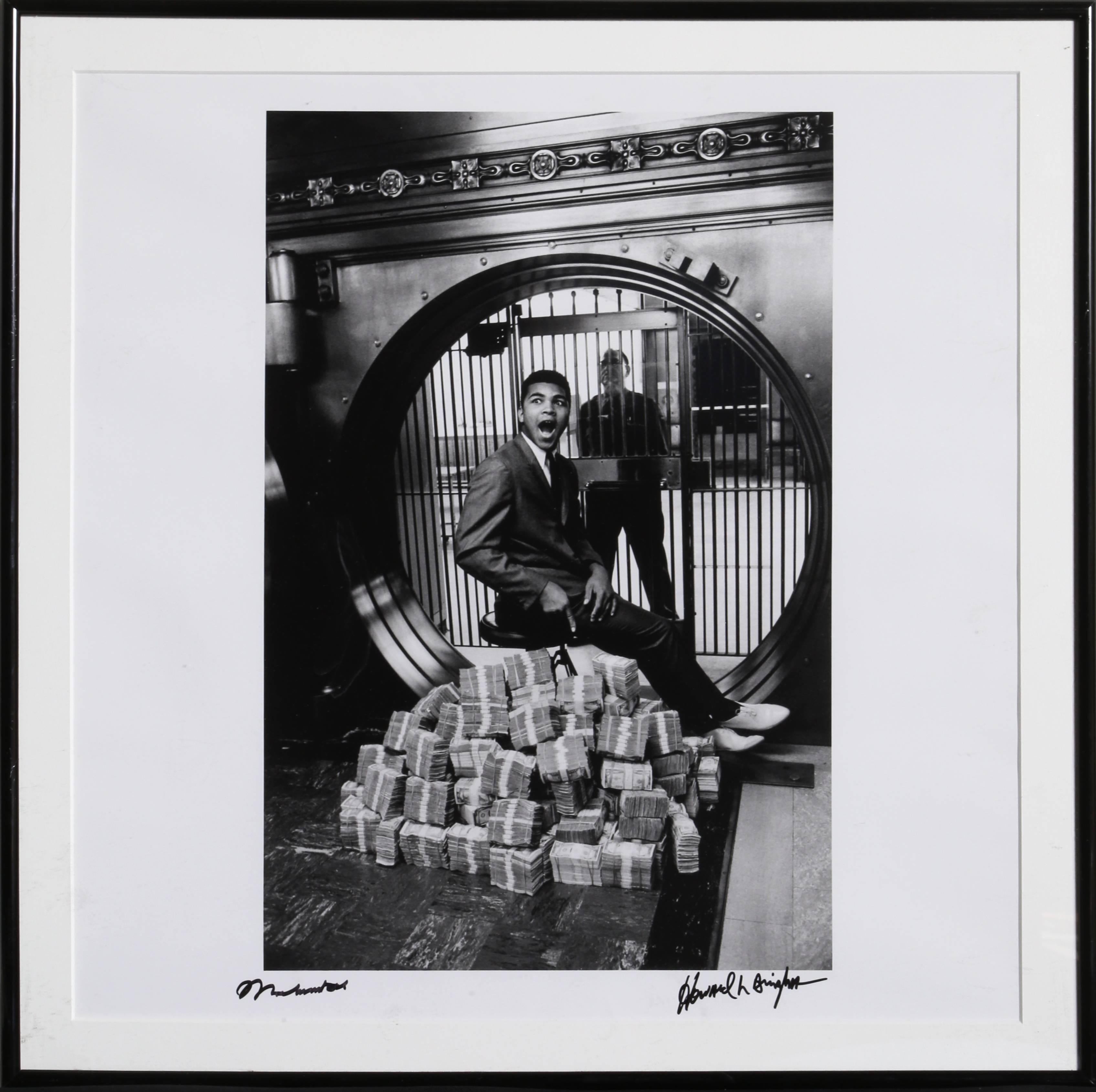 Muhammad Ali Sitting on a Million Dollars