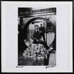 Muhammad Ali Sitting on a Million Dollars