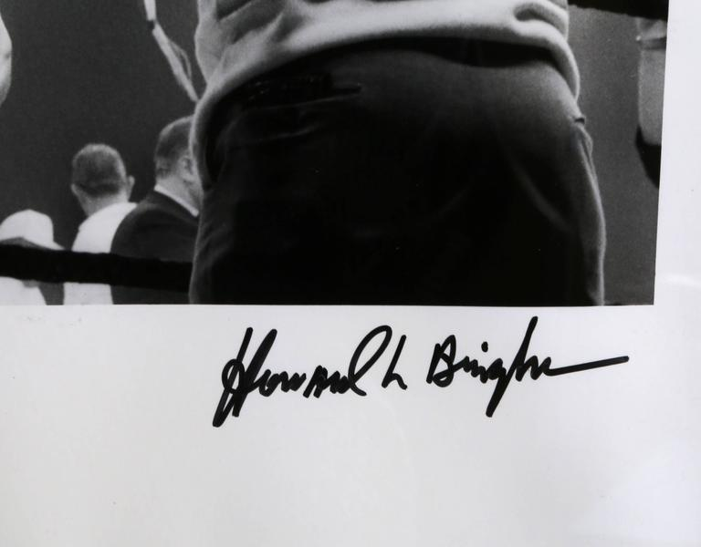 Muhammad Ali in the Ring - Contemporary Photograph by Howard Bingham