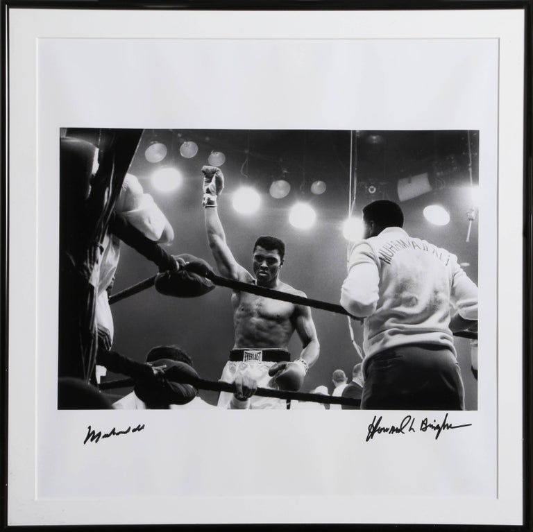 Howard Bingham Black and White Photograph - Muhammad Ali in the Ring