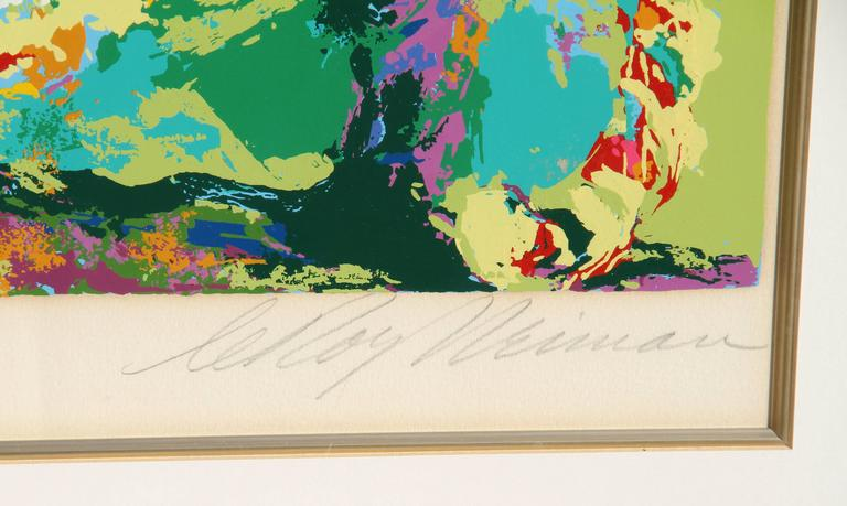 Ocelot - Contemporary Print by Leroy Neiman