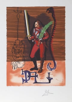 "Christopher Columbus from ""Dali Discovers America"" Portfolio"