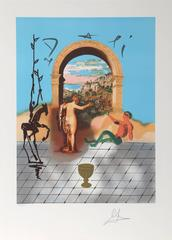Gateway to the New World, Lithograph by Salvador Dali