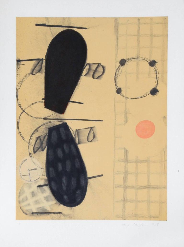 Margo Margolis Abstract Print - X