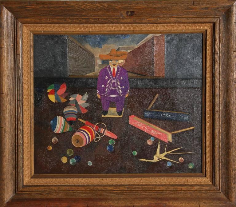 Gustavo Montoya - Man with Toys 1