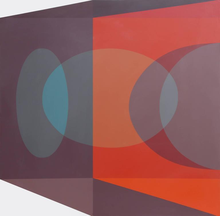 Scarlet Tesseract Corner - Print by Ben Cunningham