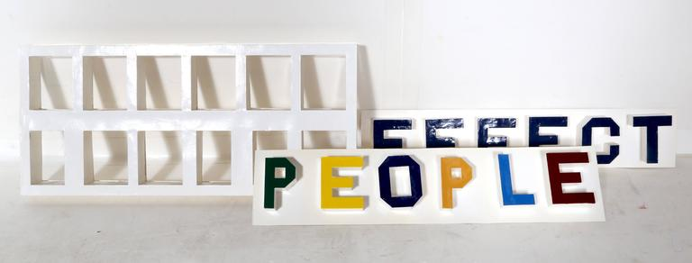 Effect People - Affect People - Gray Abstract Sculpture by Chris Caccamise
