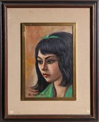 Portrait of a Girl in Green