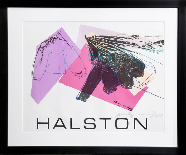 Andy Warhol Abstract Print - Halston Advertising Campaign (Women's Wear)