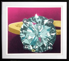 Diamond, Pop Art Silkscreen by Richard Bernstein