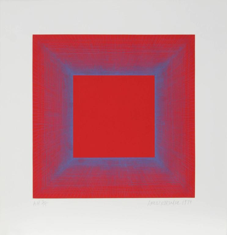 Summer Suite (Red with Blue)