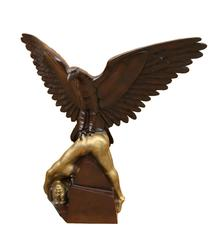 Eagle with Woman