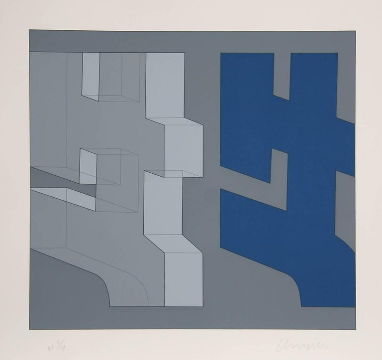 Chryssa Vardea-Mavromichali Abstract Print - Series 4