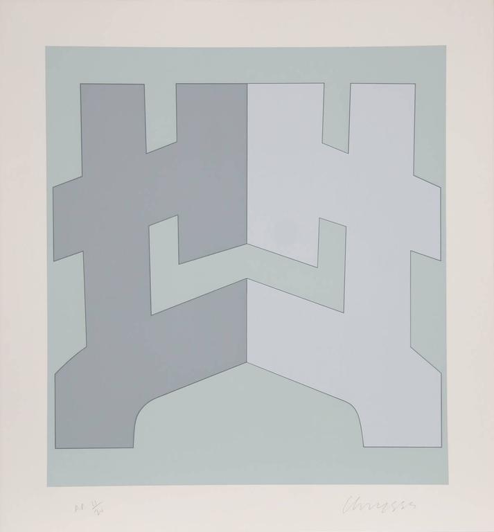 Chryssa Vardea-Mavromichali Abstract Print - Series 3