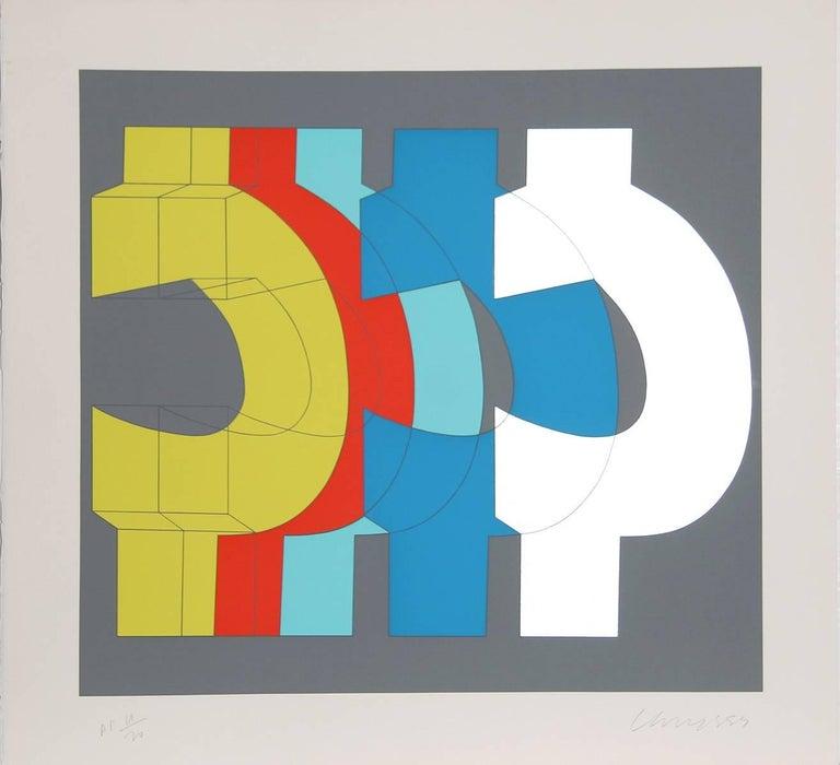 Chryssa Vardea-Mavromichali Abstract Print - Series 2
