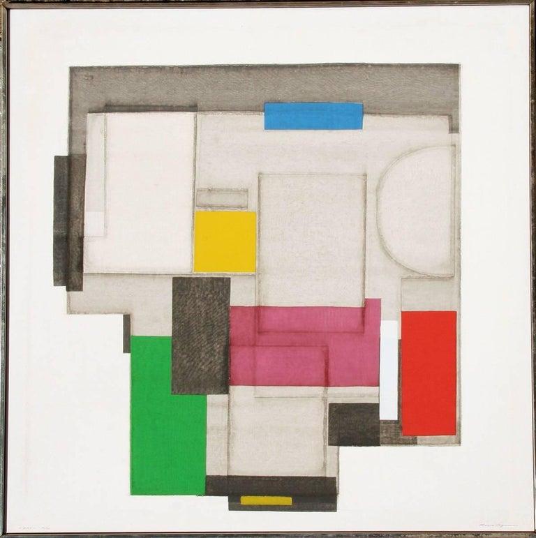 Norio Azuma Abstract Print - Day