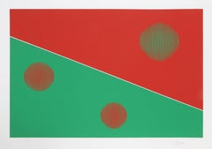 Bauhaus (Red and Green)
